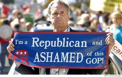 I'm a Republican & I'm ashamed of this GOP