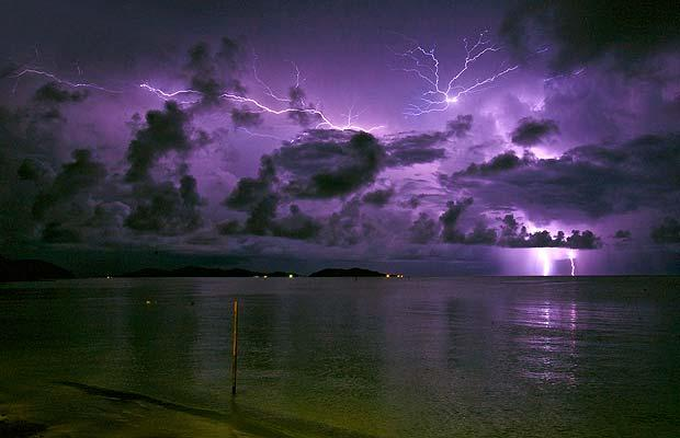 Fiji Lightning Storm ~ From Telegraph Photo Contest