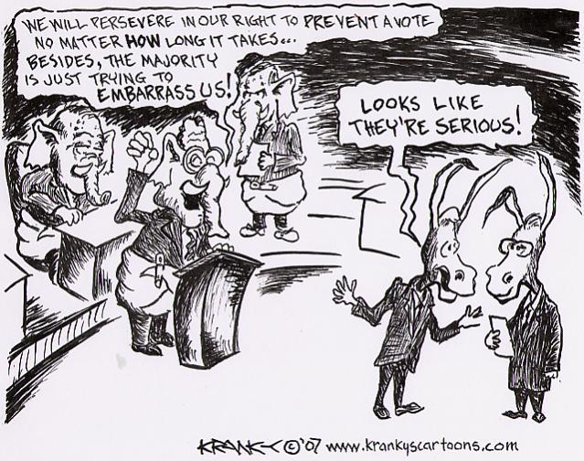 filibuster forums burning bridges filibuster cartoons by tweets that ...