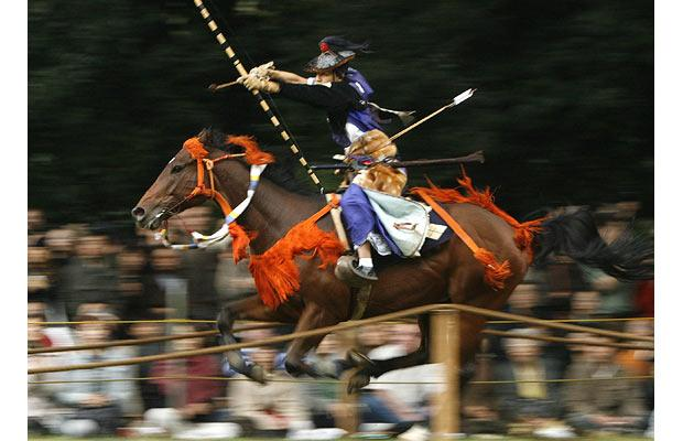mounted-archer
