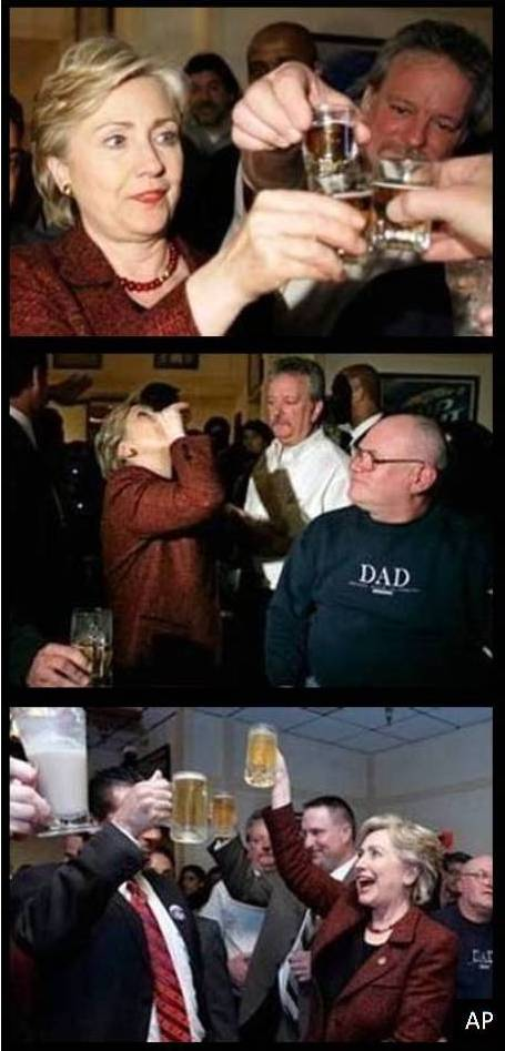 hillary-drinking-stacked
