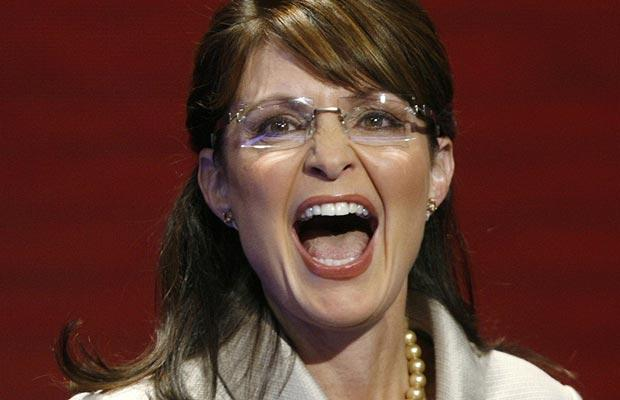 palin screaming