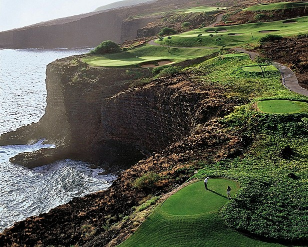 golf course at manele bay