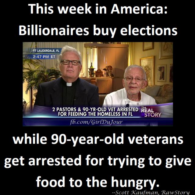 90 year old veteran arrested for feeding the homeless Girl Du Jour