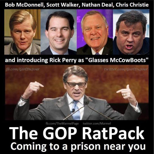 GOP Rat Pack Steve Marmel Girl Du Jour