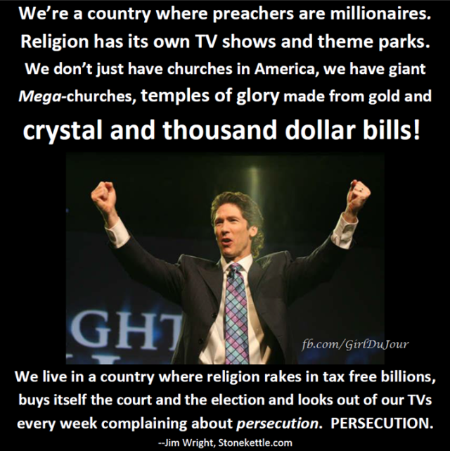 Joel Osteen Jim Wright Mega Churches Girl Du Jour