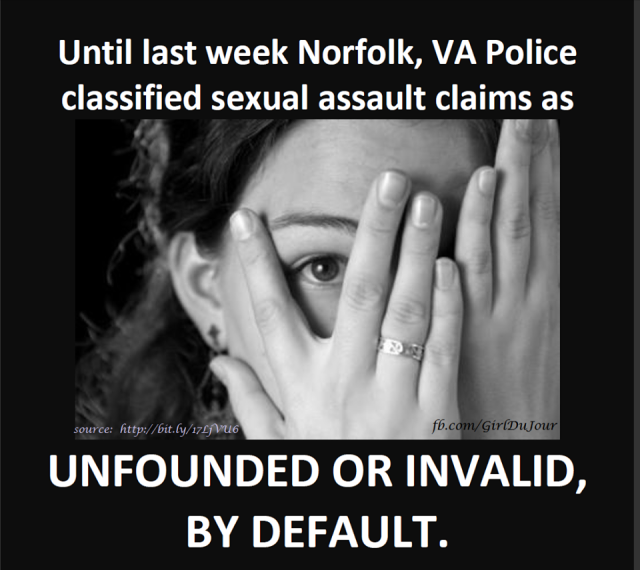 Norfolk VA Sexual Assault Laws Finally Change