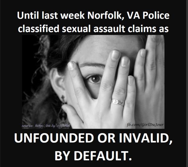 Norfolk VA Sexual Assault Laws Finally Change