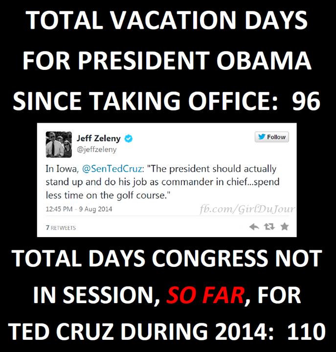 Obama Vacation Days Girl Du Jour