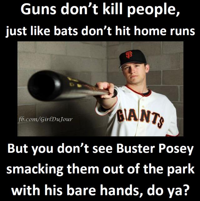 Bats Don't Hit Home Runs Posey GDJ