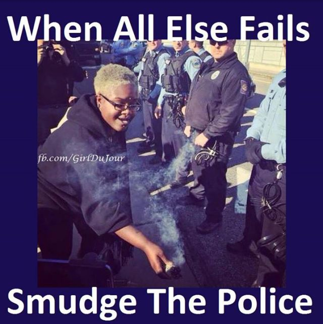 smudge the police girl du jour