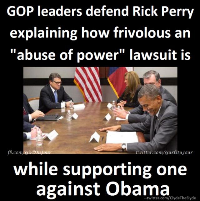 Rick Perry Barack Obama Abuse Of Power Lawsuit Girl Du Jour